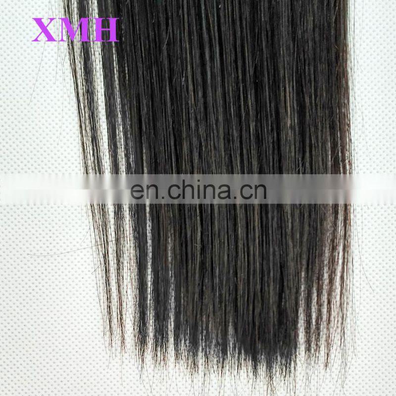Qingdao Factory double weft 100% human hair top quality 8a grade unprocessed wholesale virgin brazilian hair
