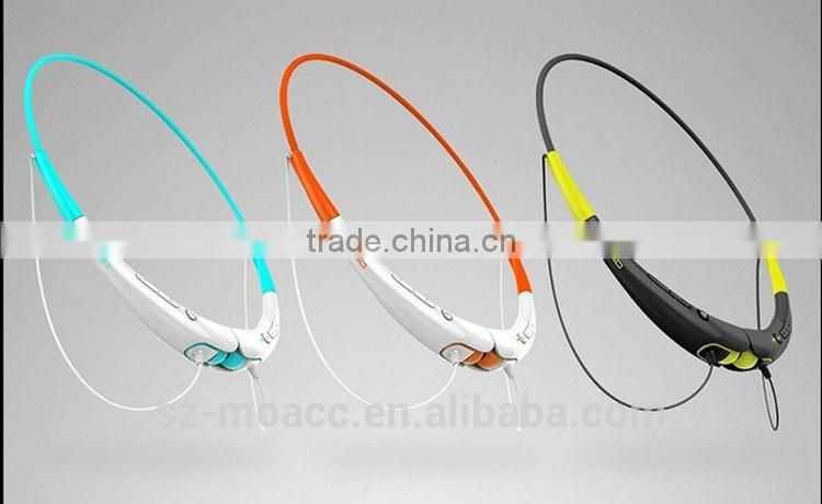 Fashionable Heavy bass wireless best bluetooth sport headphone
