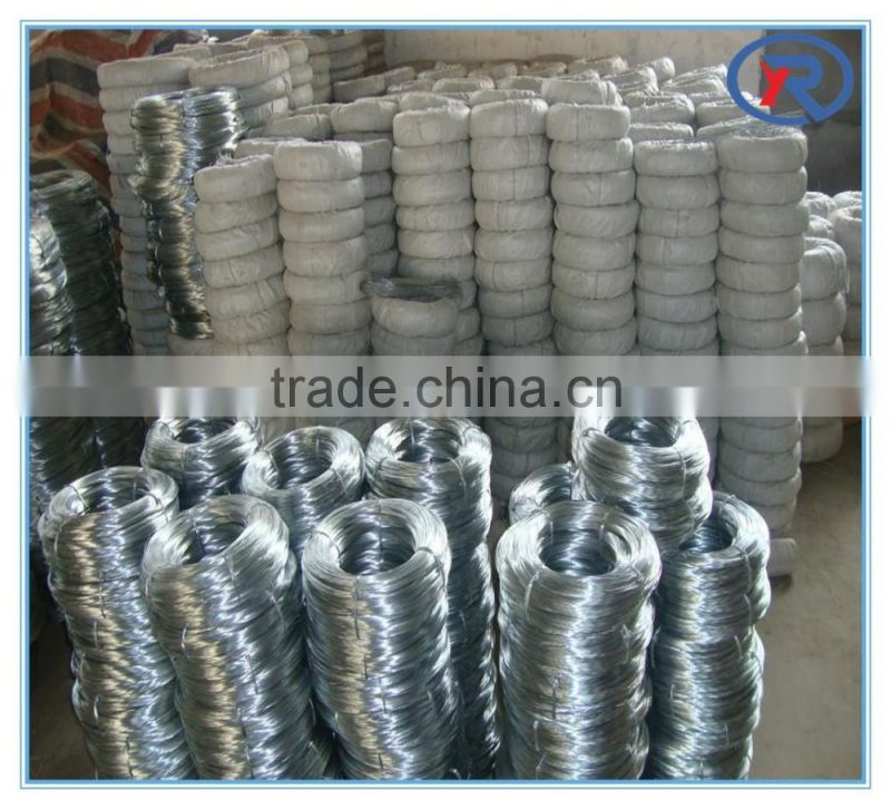 trade assurance 25kgs/50kgs Each Roll Galvanised Iron Wire Bwg 17.5