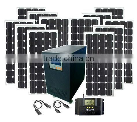 10kw Complete with battery and brackets solar movable power supply