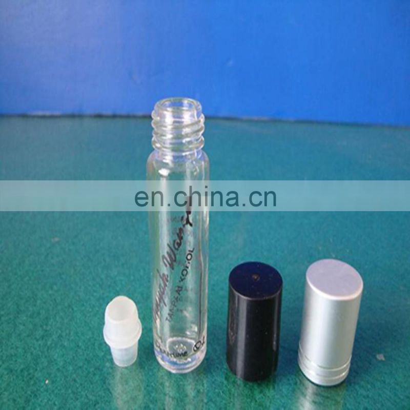 Hot sale! manufacturer small size arabic oil perfume bottle with plastic lid