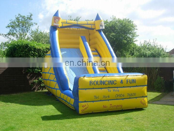 10ft Platform Inflatable Slide