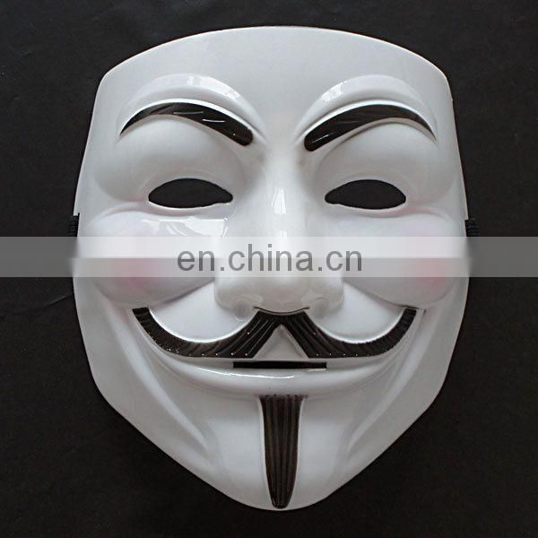 2017 Halloween Prop Costume V For Vendetta Mask Guy Fawkes