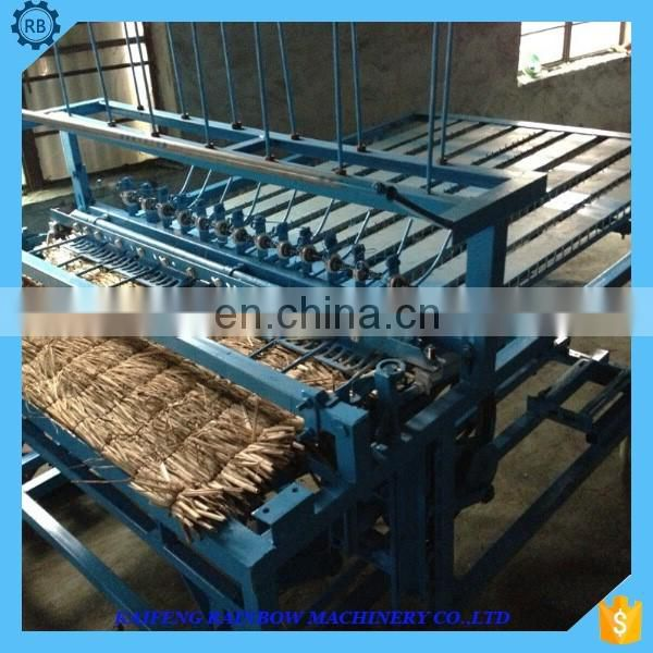 High quality automatic trimming function Bamboo curtain knitting machine Reed curtain making machine mat weaving making machine