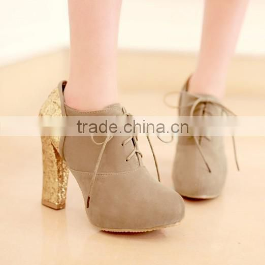 new model shoes ladies high heel shoes china CP6502
