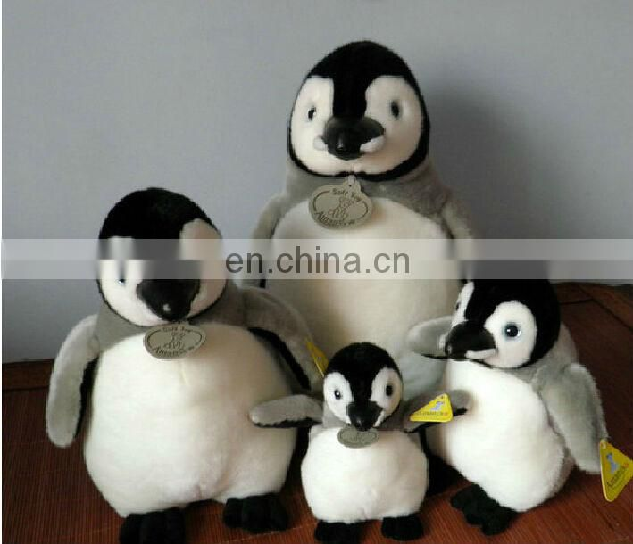 cute pink penguin dolls for baby gift