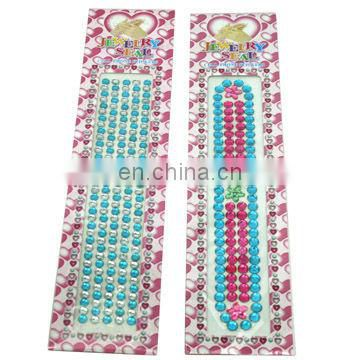 Fashion Crystal Rhinestone Phone Sticker