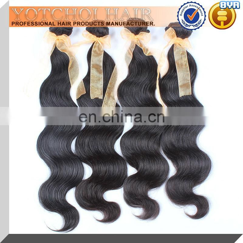 Qingdao Hair Product Supplier Cheap 6A Grade Body Wave Virgin Brazilian Hair
