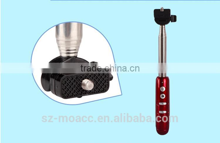 China Wholesale Camera Use zoom in-out function bluetooth monopod handheld