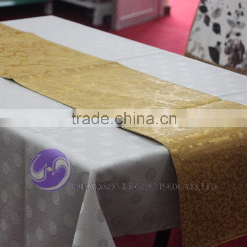 chevron sequin banquet wedding wholesale table runner cloth overlay linens