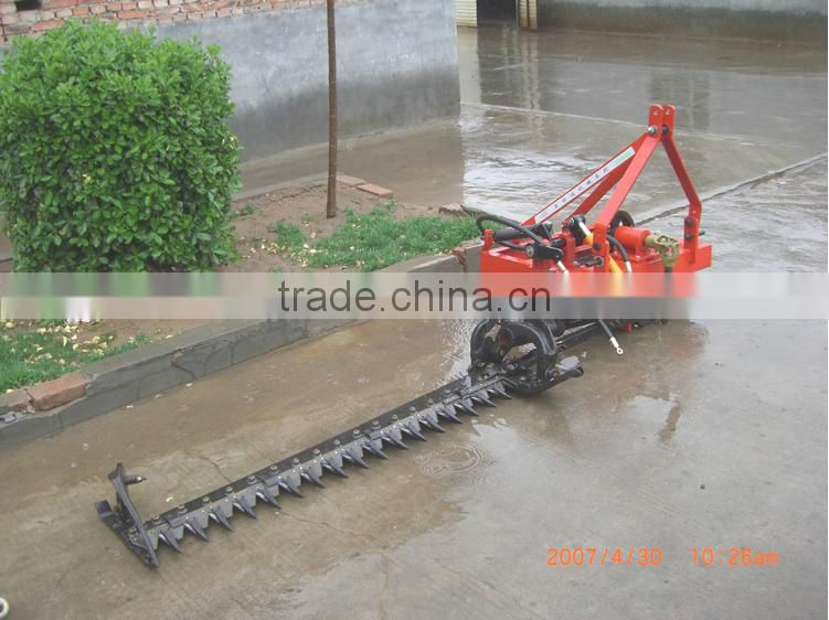 9GB Series semi-mounted loader Tractor reciprocating hedge cutter of