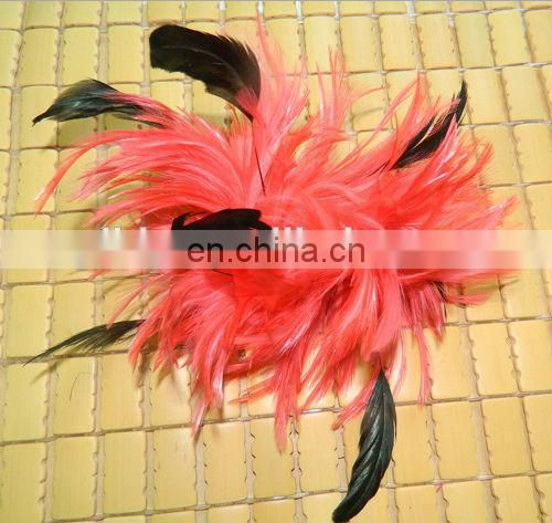 hot sell feather flower for headdress & brooch