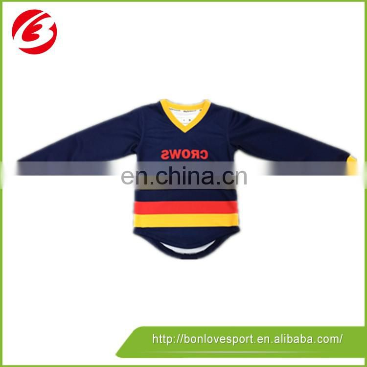 Long sleeve rugby jersey for kid