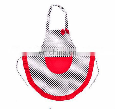 nice printed waterproof kids apron / children drawing apron