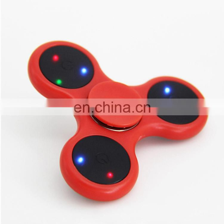 2017 NEW HOT Hand spinner professional hand spinner toys educational toys led flashing hand fidget spinner