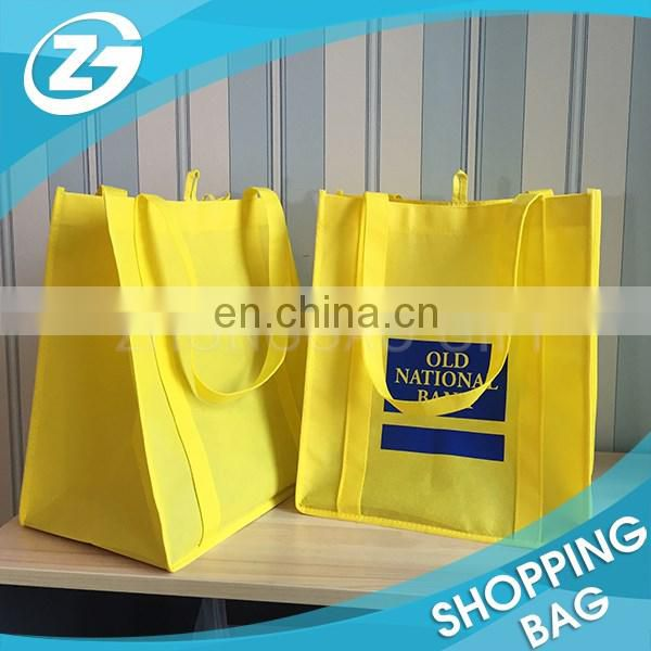 Eco Friendly Folded Bank Promotion Gift Nonwoven Fabric Tote