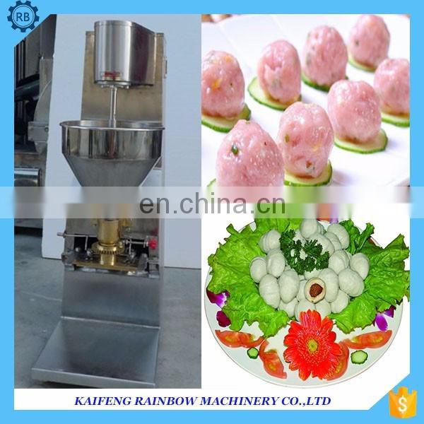 RB series restaurant use meatball making machine fish and meat ball former with easy operation