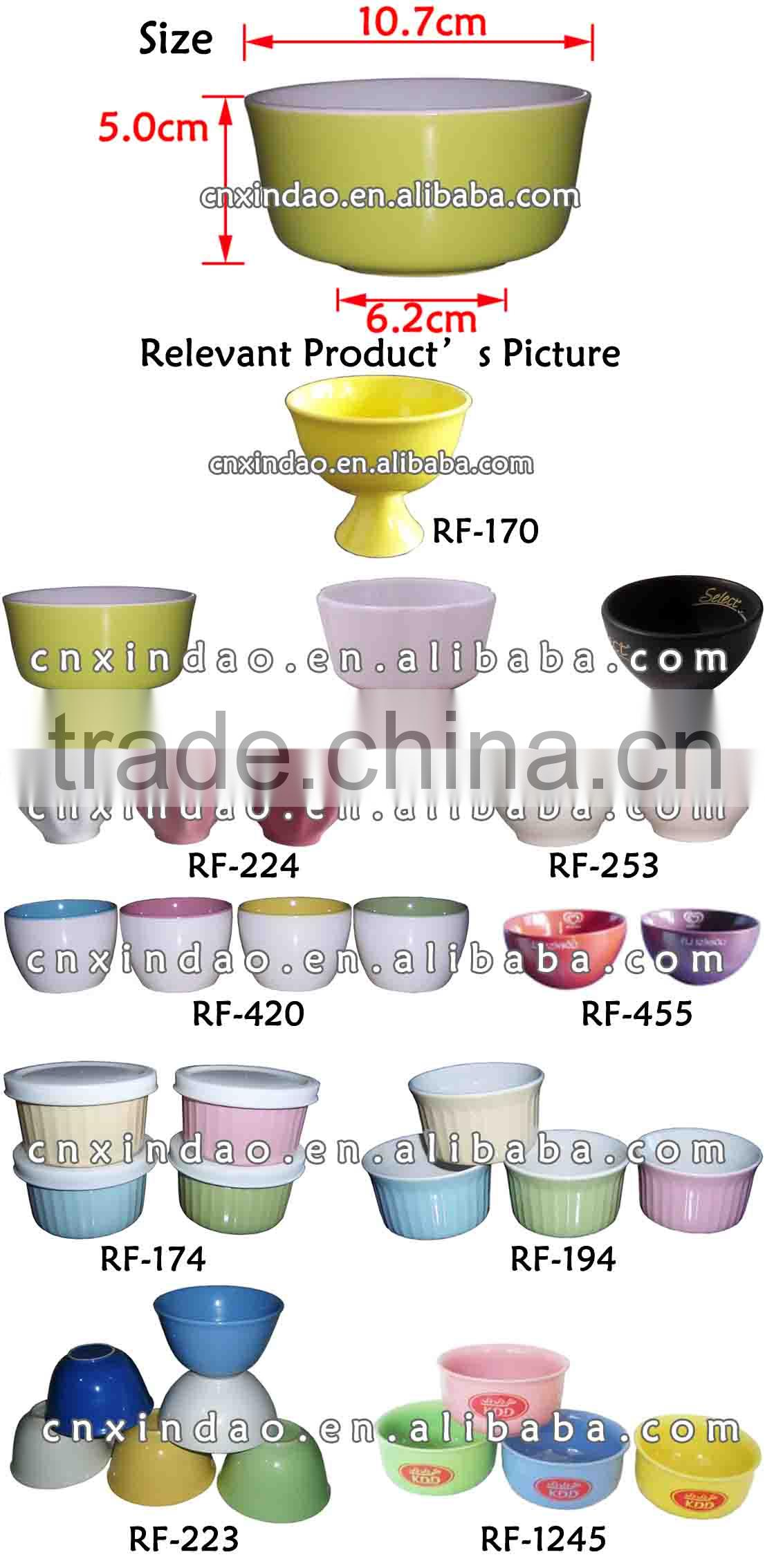 Zibo Made New Style Glazed Promotional Ceramic Shallow Salad Bowl for Dinner Set