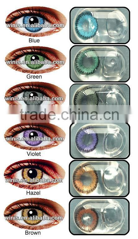 420e4afbe17 Hot sale korea 15mm yearly Eclipse SM cheap circle cosmetic color big eye  contact lenses Quality Choice Most Popular