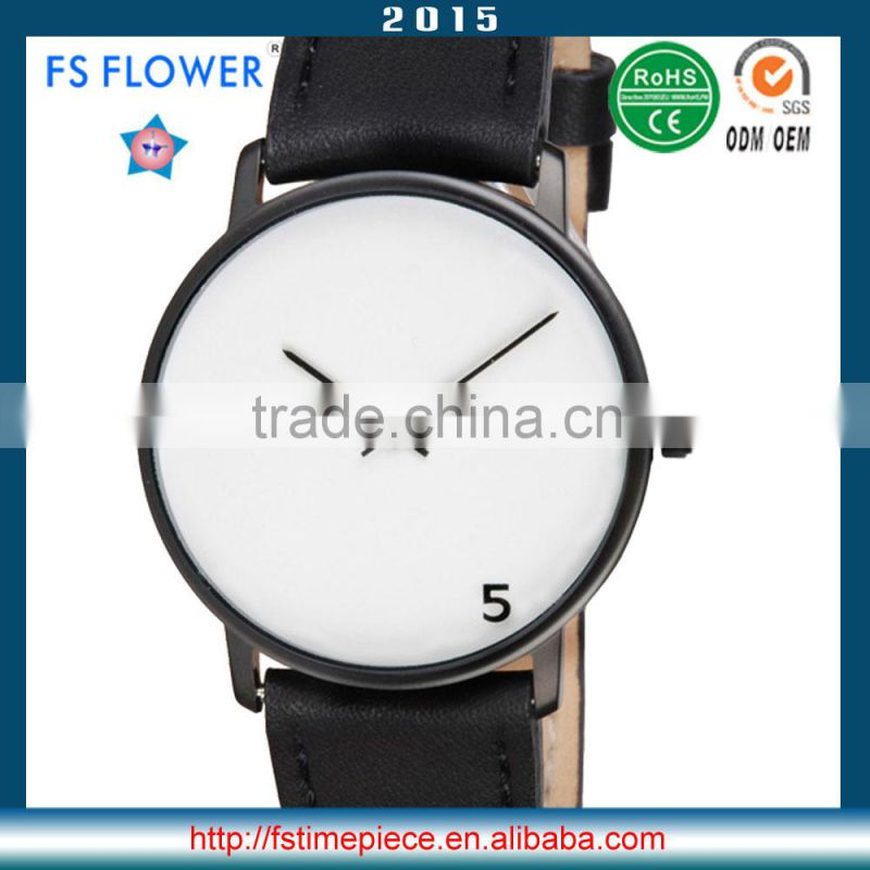 FS FLOWER - Simple Minimalist Men Hand Watch 2015