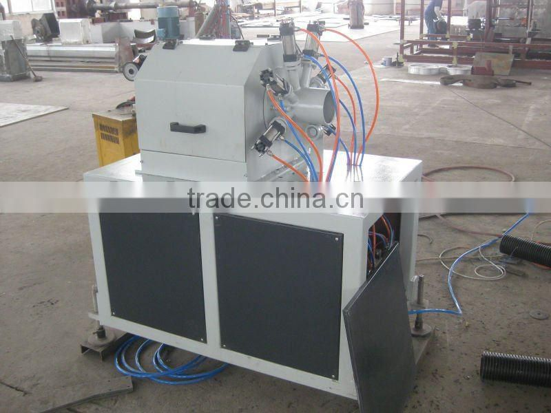 PP PE PVC plastic pipe perforating machine max 250mm diameter