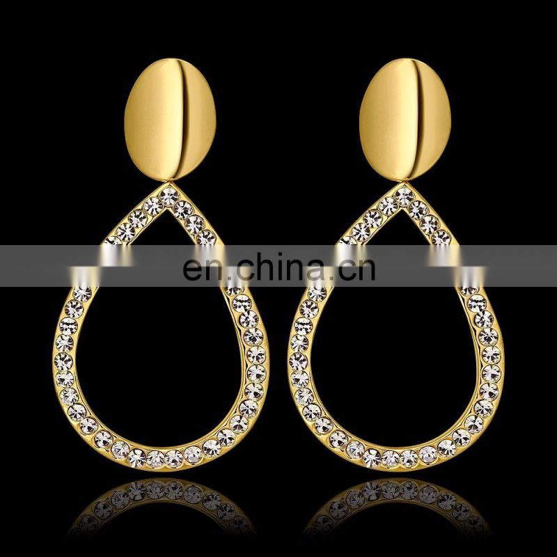 Cute Small Gold Earrings Designs with Price