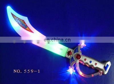 Led flash music laser sword toy