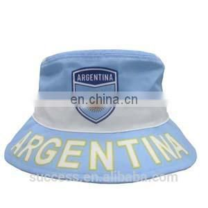 Soccer Fan print hat