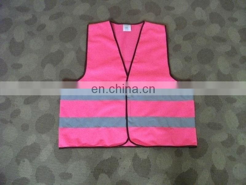 pink safety vest,safety vest for women,children safety vest