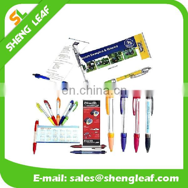 Banner for ad floating pen