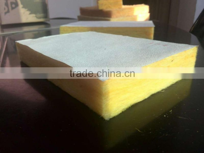 Glass Wool With Aluminum Foil,Insulation Price, Heat Insulation Fiber GlassWool roll
