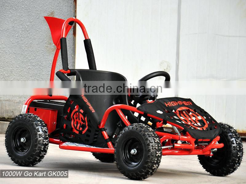 1000W 48V Electric Mini Go Kart,Cross Buggy for Kids (GK005)