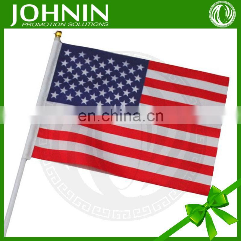 OEM Customized Hot sale and High Quality American Hand Shaking Flags