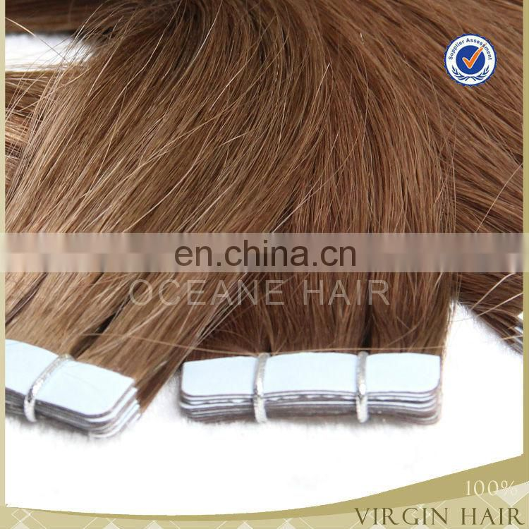 Double drawn tape hair extensions wholesale 2.5g/piece 40 pcs
