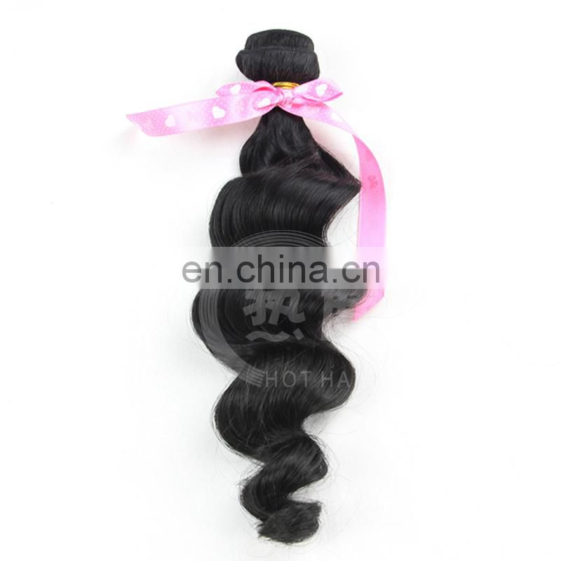 Wholesale Cheap unprocessed brazilian loose wave remy hair weave rosa beauty