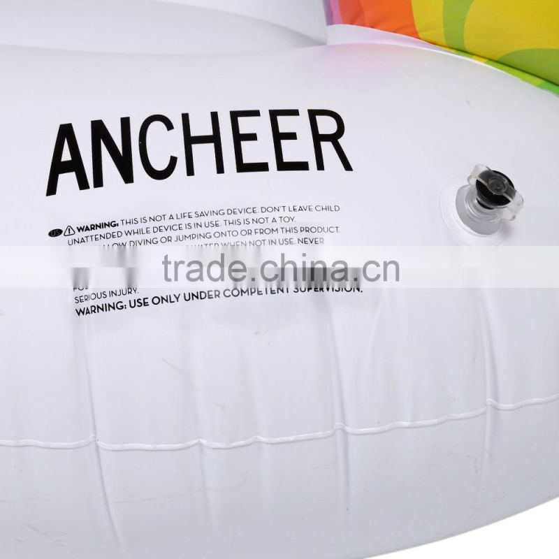 Ancheer Animal Inflatable Ride on Swimming Boat Beach Toys Swimming Pool Float Rider AM004435