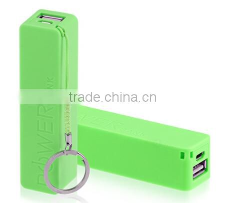 2015 New gift power bank rechargeable external battery charger mobile phone