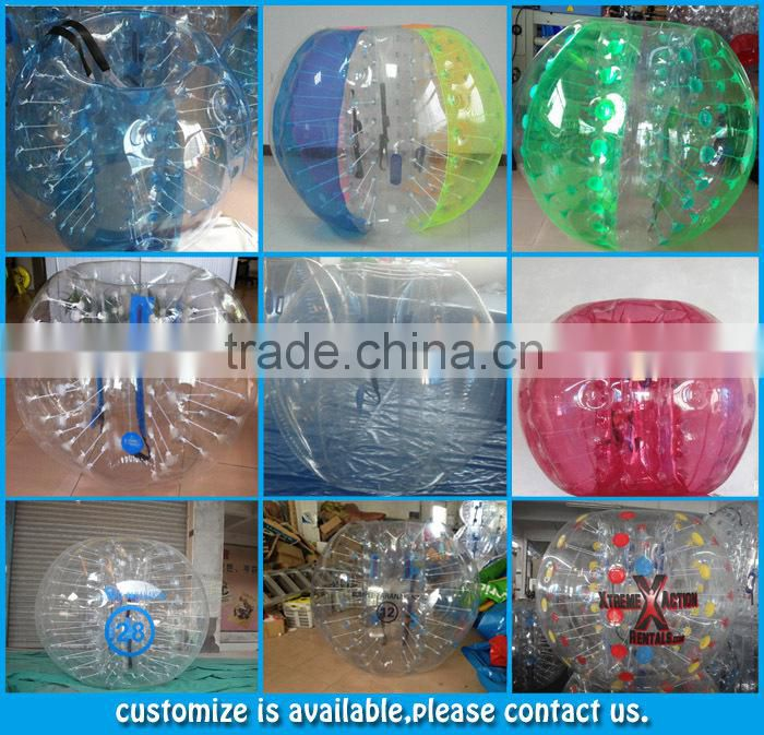 Best price!!!inflatable bubble ball,human bubble,bumper ball inflatable ball