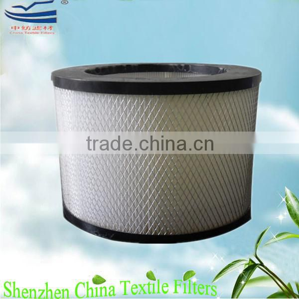 Air cleaner mini pleat HEPA filter elements H11