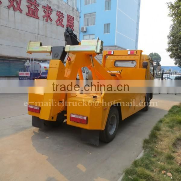 4*2 DONGFENG Towing lifting conjoined Wrecker 5 ton