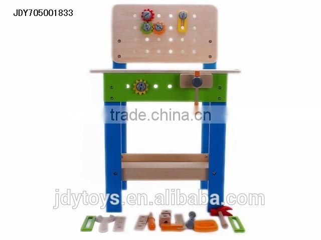 New design kid toy wooden tool kit,wholesale toy from China wood toy,baby education toy wooden toy