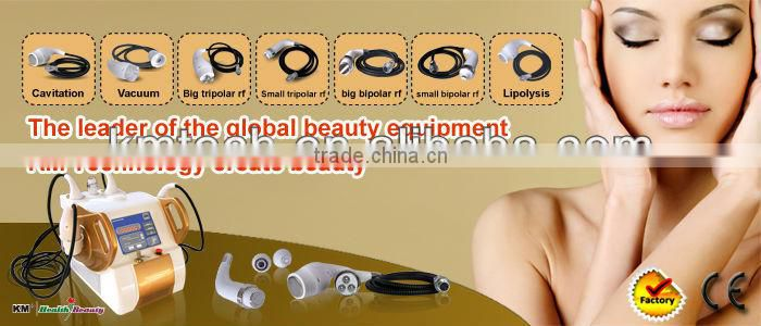 cavitation vacuum anti cellulite beauty system with Trolley free