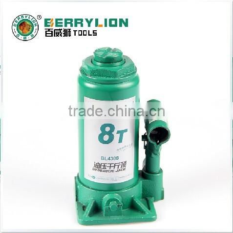 8T Hydraulic bottle jack lift car repair truck tools, cheap price jack