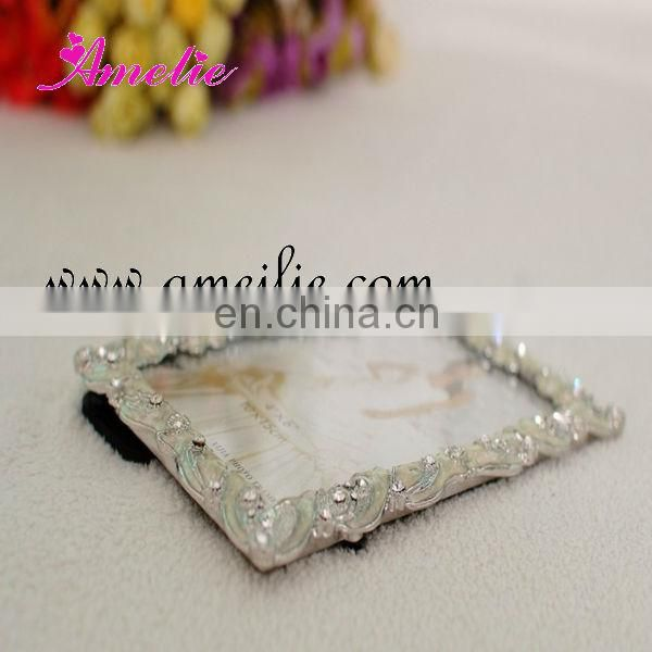 A8023 Wholesale 4*6 size metal wedding photo favors