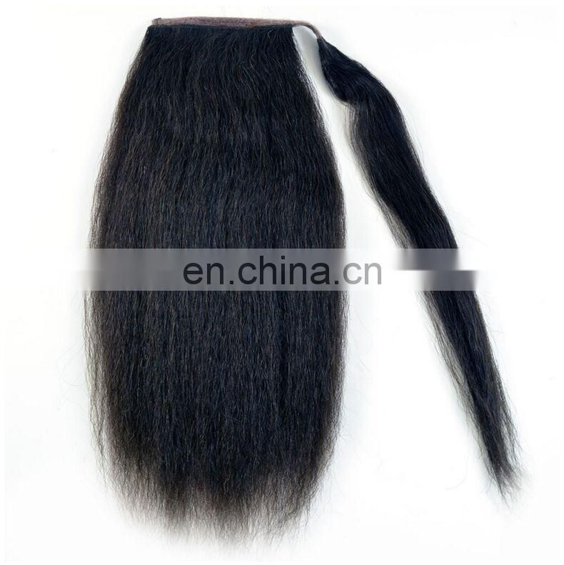 Wholesale Human Hair Weave Distributors Brazilian Women Long Temple Virgin Hair Pieces