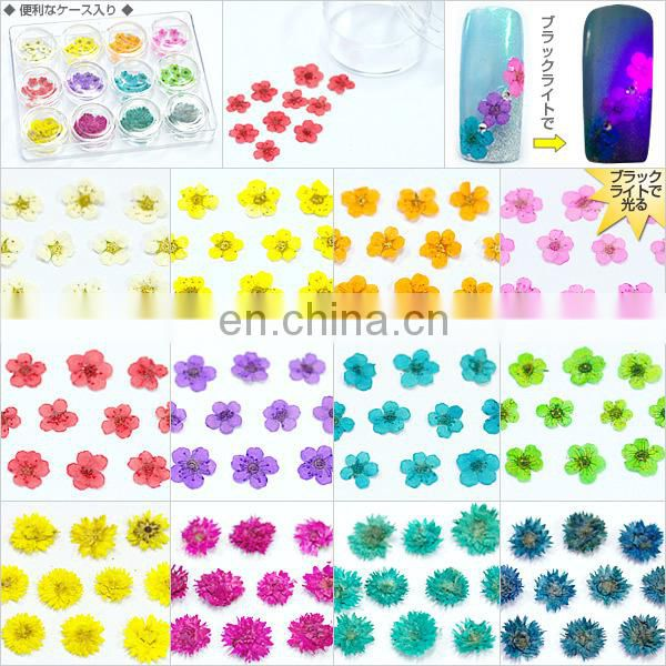 Wholesale popular colorful nail product flower nail sticker