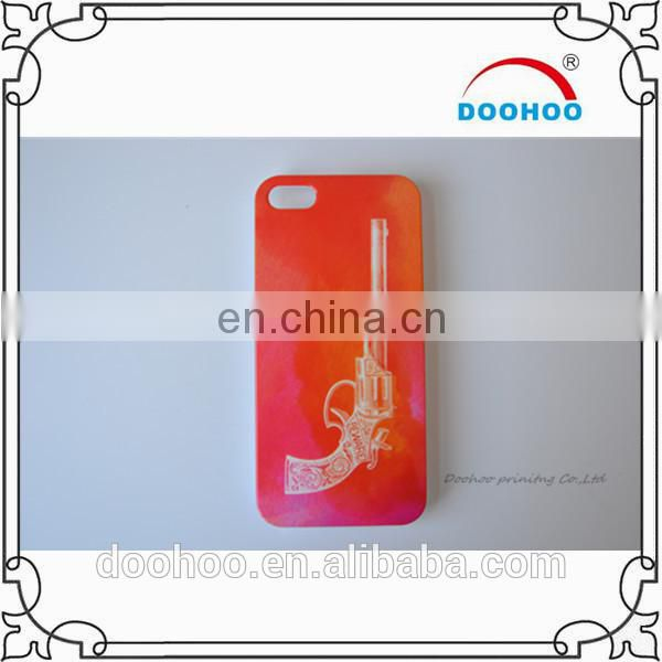 3D custom fashion Plastic Phone Case for iPhone 5/5s/6