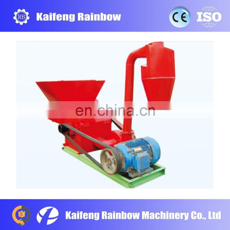 Hot Sale Good Quality mobile stalk crushing machine/diesel straw cutter/small chaff fodder