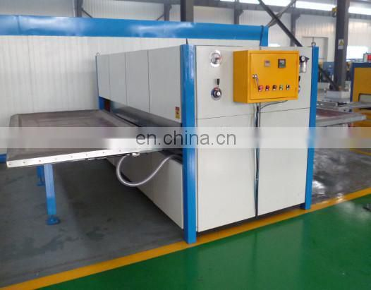 Wood Grain Transfer Machine for aluminium door_Amahcine factory