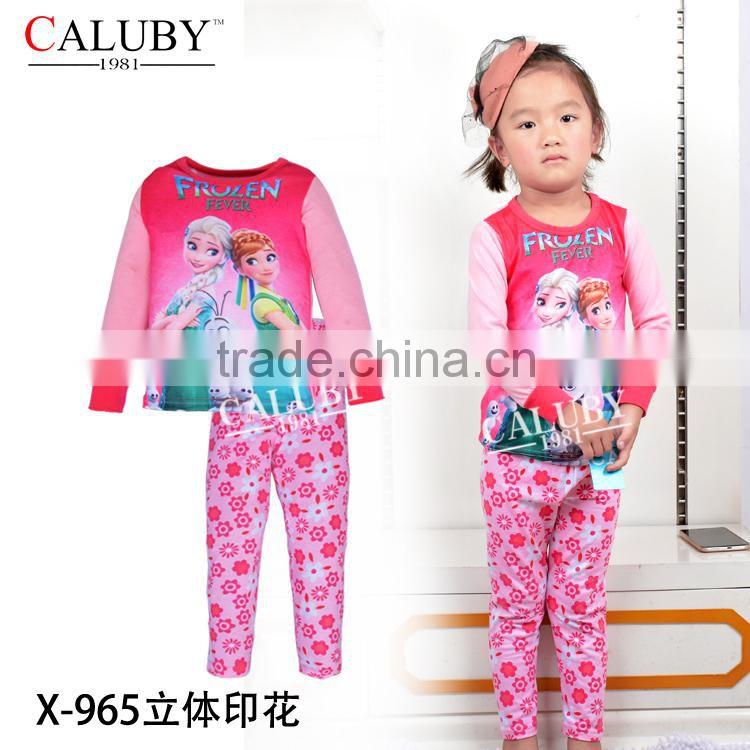 21f1ec8cc children frozen fever pajamas wholesale snowflake snow queen pyjamas ...